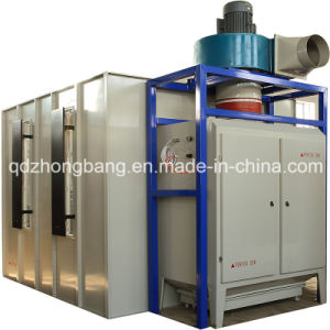 Manual Powder Coating Booth with Filter Recovery System pictures & photos