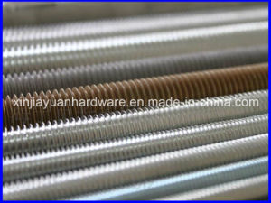Plain/Zinc Plated /Nickle Plate Carbon Steel Threaded Rod (M3 to M70) pictures & photos