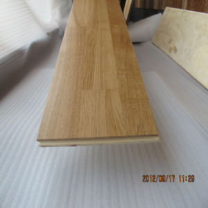 Cheap 4mm Toplayer 3 Strip Birch Wood Flooring