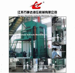 Chemical Fiber Baler Press pictures & photos