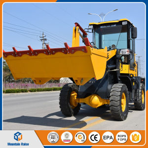 Mini Loader 1 Ton Farm/Garden Tractor China Mini Wheel Loader Zl10 Front End Loader Price pictures & photos