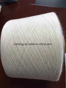 PBT and Viscose Core Spun Yarn for Knitting Sweaters pictures & photos