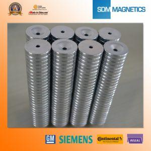 N35 Neodymium Countersunk Rare Earth Magnet pictures & photos