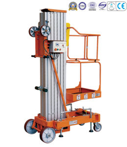 (light) Single Mast Aluminum Aerial Work Platform pictures & photos