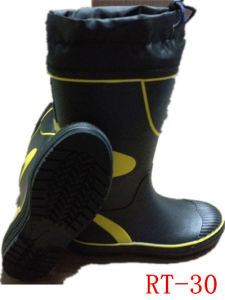 Men Rubber Rain Boot (RT-30) pictures & photos