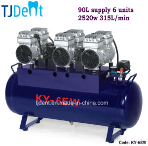 Ce Noiseless 90L Supply Six Units Dental Air Compressors pictures & photos