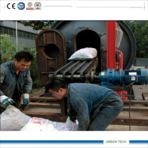 10ton Tyre Pyrolysis Machinery with Conveyor Feeder Easy Loading pictures & photos