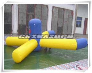 Summer Hot Sale Inflatable Rocking Tube Floating Water Park Games