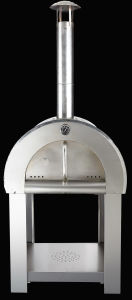 Stainless Steel Wood-Fired Pizza Oven