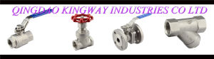 Stainless Steel 3-PC Flanged Ball Valve (BT-3F) pictures & photos