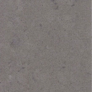 Cement Grey Prefab Solid Surface of Quartz Stone Slab