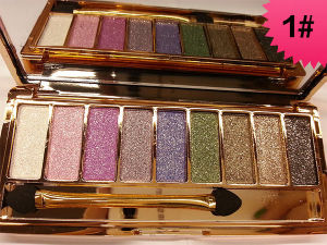 9 Colors Diamond Shimmer Glitter Eye Shadow Palette Eyeshadow Pigment Eye Glitter Eyeshadow by Vigny Winnie pictures & photos