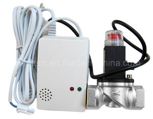 High Quality Wired Gas Detector with Solenoid Valve pictures & photos