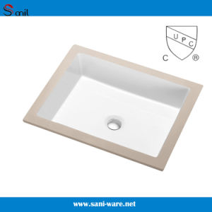 Guaranteed White Bathroom Ceramic Bathroom Washing Bowl (SN029) pictures & photos