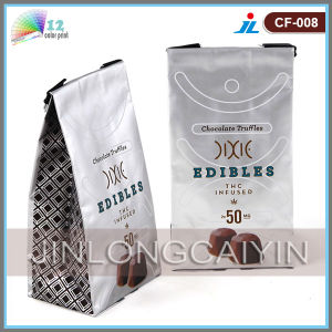 Tin Tie Coffee Packaging Bag with Valve pictures & photos