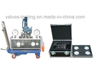 Mini Portable Car Loaded Safety Valves Offline Testing Station pictures & photos