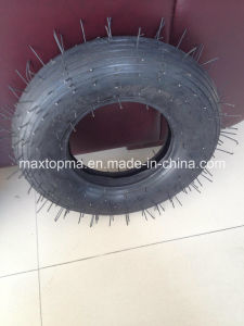 Reach or PAHs Certificate China Green Wheelbarrow Tyre pictures & photos