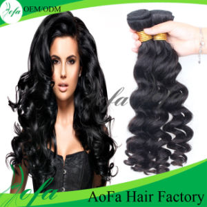 No Chemical Process Hair Weave Virgin Remy Human Hair Extenson pictures & photos