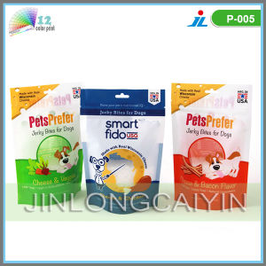 Stand up Pet Food Packaging Bag with Zipper pictures & photos