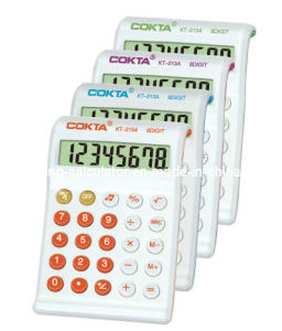 8 Digits Desktop Colorful Calculator, Promotional Calculator (KT-213A)