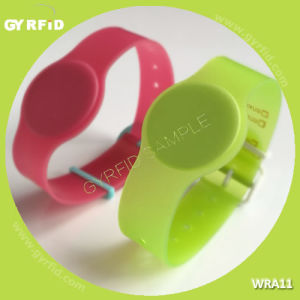 Wra11 RFID Wrist Watch Mutil Colors, Flexible, Water Proof (GYRFID) pictures & photos
