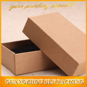 Recycle Kraft Paper Cardboard Gift Box Accept Customized Logo pictures & photos