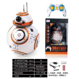 Electric Remote Control Ball Robot Toy
