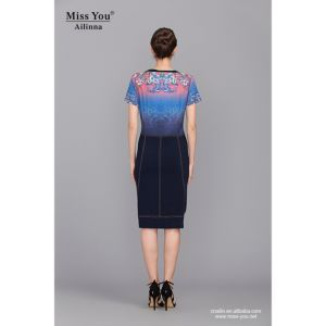 Miss You Ailinna 102031-3 Women Short Slim Dress Wholesaler with Low Price pictures & photos