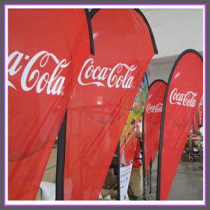 Promotional Feather Flag with Polyester Fabric for Indoor Outdoor Application pictures & photos
