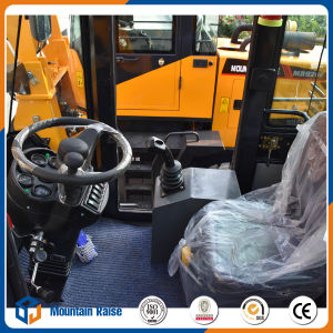 1.5ton Mini Wheel Loader with Quick Hitch pictures & photos