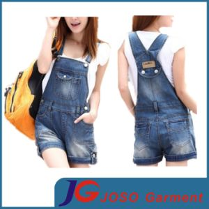 Korea Style Girl Short Suspender Pants pictures & photos