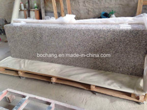 Tiger Skin White Granite Prefab Countertop pictures & photos