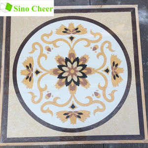 Church Round Floor Ceramic Mosaic Tile Waterjet Medallion pictures & photos