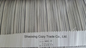 New Popular Project Stripe Organza Sheer Curtain Fabric 008241 pictures & photos