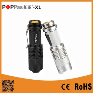 Mini Telscopic USA CREE XPE R2 Mini LED Flashlight pictures & photos