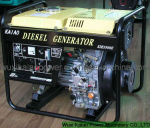 6kw 3-Phase Diesel Generator (KDE5500E3/CE approved) pictures & photos