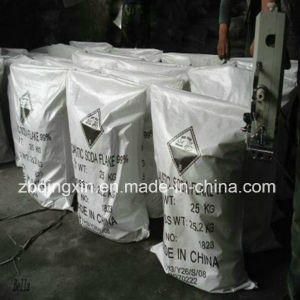 SGS-99% Caustic Soda /Sodium Hydroxide Flake-Factory Supply pictures & photos