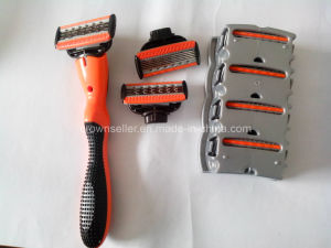 Incbest 5+1 Razor Blade - 5 Blade Shaving Surface + 1 Precision Trimmer