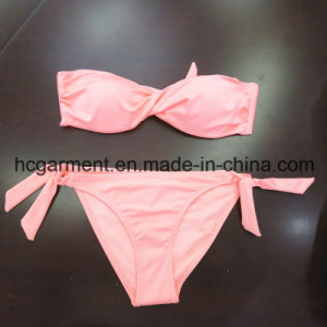 Rose Red Printing Sexy Beachwear Bikini Bra for Women Man/Girl, Swimming Wear pictures & photos