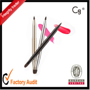 OEM Retractable Double Lip Make up and Cosmetic Brush pictures & photos