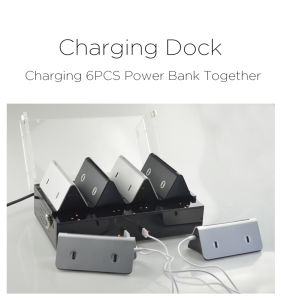 Cafe Charger Station for Menu Power Bank pictures & photos