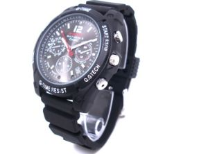 Mini Camera Watch 1080p Waterproof Micro 4LED for Night Vision Video Surveillance 4GB-16GB (QT-IR009) pictures & photos
