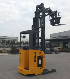 1.8ton Double Deep Electric Reach Truck pictures & photos
