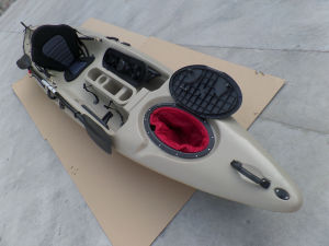 Professional One Person LLDPE Kayak Fishing Kayak Sit on Top Kayak for Sale pictures & photos
