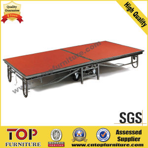 Mobile Stage for Banquet Hall (WT-9006) pictures & photos