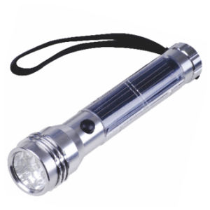 High Lumen Solar Flash Light with 10 LED Spot pictures & photos