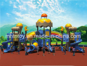 Kids Outdoor Playground Plastic Slide Equipment HD-Tse003 pictures & photos