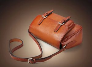 Factory Customized Designs Cow Leather Bag + Small MOQ (h8490) pictures & photos