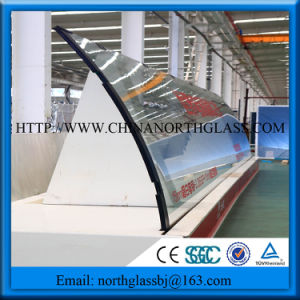 Clear Curved Tempered Glass (ISO9001) pictures & photos