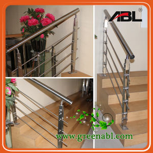 Abl Stainless Steel 316 Glass Staircase Handrail (DD091) pictures & photos